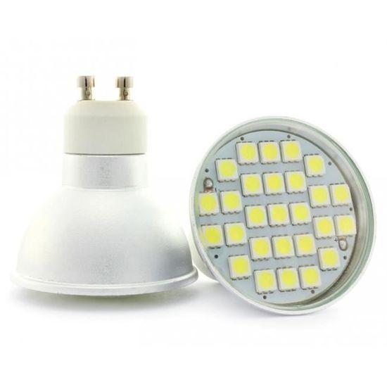 Lampe Blanc Sortie Watt De Chaud50w Gu10 5 Avec Led Nouvelle Super Lumineuse Chip Technologie QBordCeWx