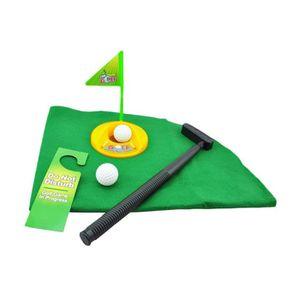 jeu de golf pour toilettes achat vente pas cher cdiscount. Black Bedroom Furniture Sets. Home Design Ideas