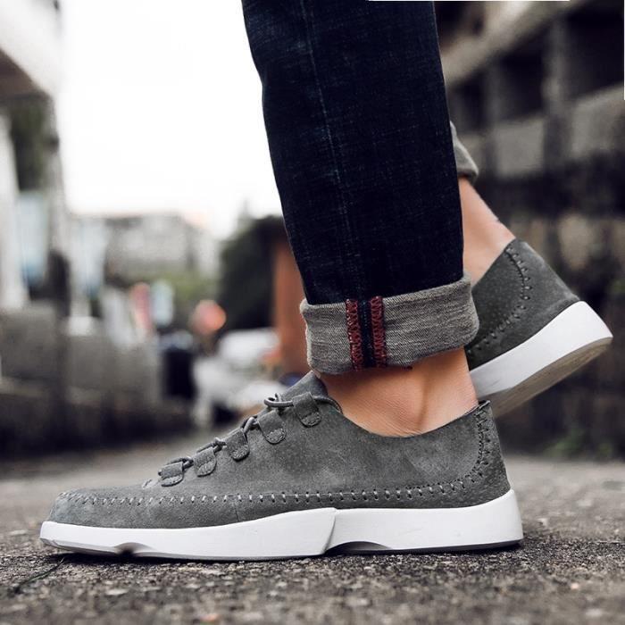 Shoes Souliers British Casual Derbies hommes Fashion d'affaires Flats pour gwqOvI