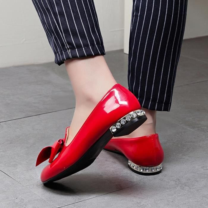 Femmes Mode Chaussures Bas-cut Casual Mocassins Respirant