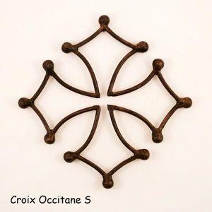 OBJET DÉCORATION MURALE Croix Occitane S