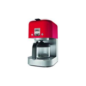 CAFETIÈRE KENWOOD Cafetière filtre COX750RD Kmix Rouge Vermi