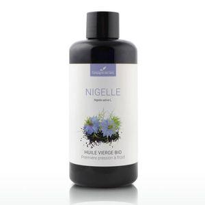 HUILE - LAIT MASSAGE NIGELLE - Huile végétale BIO - 250mL