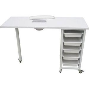 BUREAU  Table de manucure – onglerie – modèle ulnar.