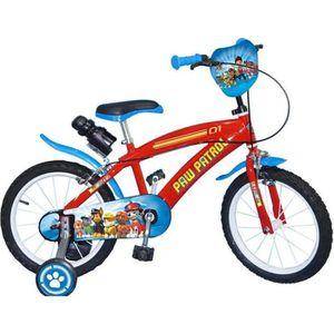 VÉLO ENFANT Vélo enfant 16 pouces la Pat Patrouille bleu Licen
