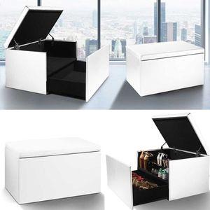 banc de rangement chaussure achat vente banc de. Black Bedroom Furniture Sets. Home Design Ideas