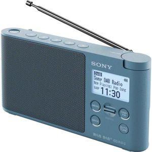 BALADEUR CD - CASSETTE SONY - XDRS41 - Radio portable DAB/DAB+ - Prérégla