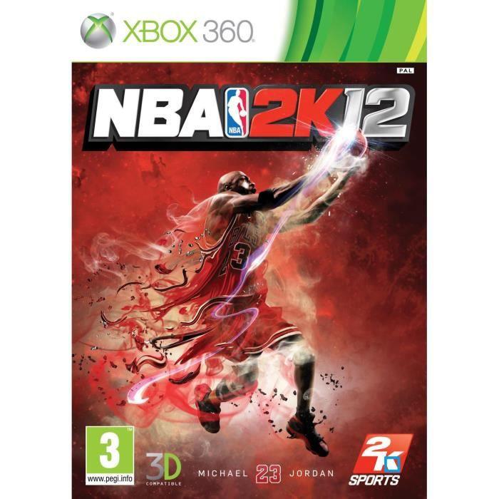 JEUX XBOX 360 NBA 2K12 / Jeu console X360