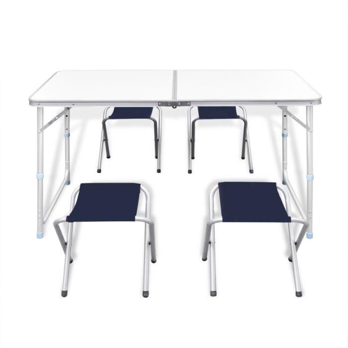 Ensemble Table Et Chaise De Camping