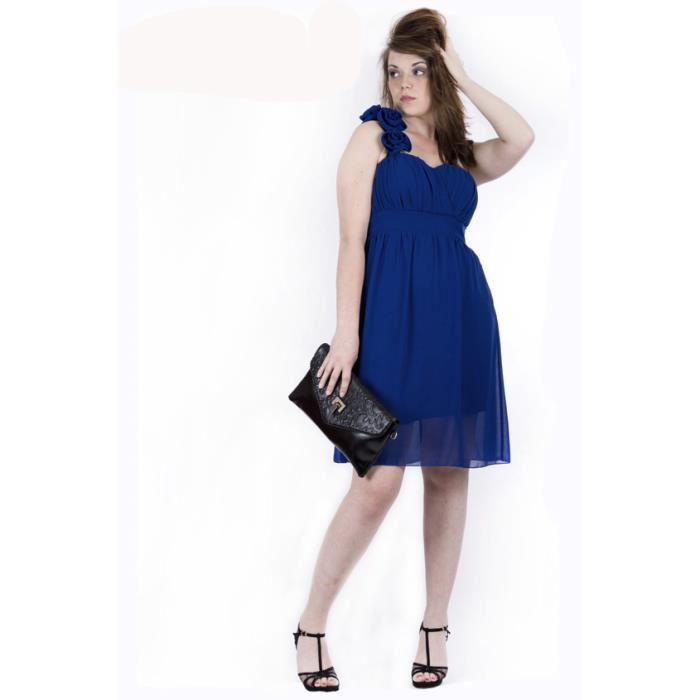 ac4a95d808399 Robe PINK BOOM Bleu électrique - Ref  7225 Rose - Achat   Vente robe ...