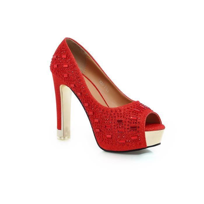 sandale à bout ouvert Les Chaussures pour Femmes Escarpin Avec talon