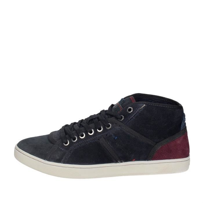 BASKET Wrangler Haute Sneakers Homme Bleu, 45