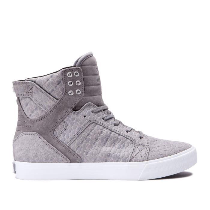 Chaussures SUPRA SKYTOP grey cayman XTQW9M2Ym