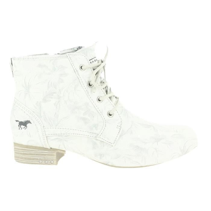 bottines/ boots 1279-501 femme mustang 1279-501