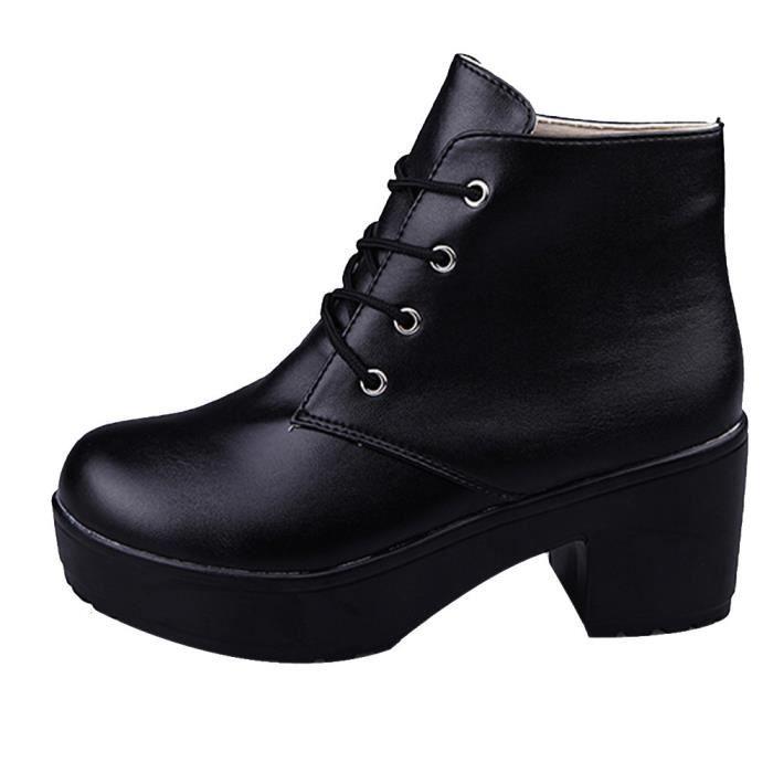 bottes femme bottes punk strass hiver bottes bottes chaudes cheville chaussures chaud hiver