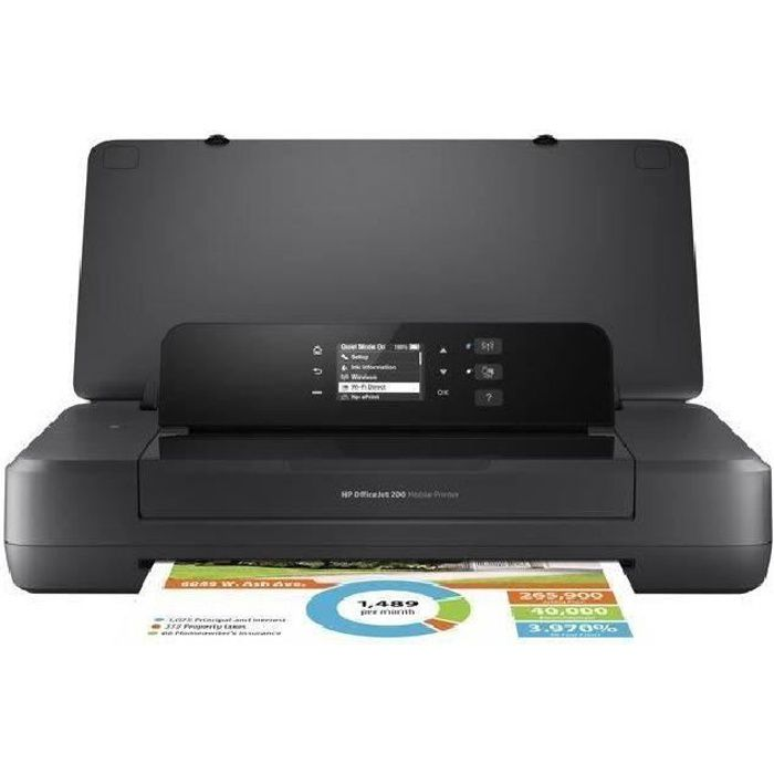 HP Imprimante portable HP Officejet 200