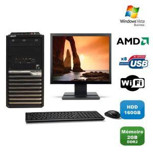 UNITÉ CENTRALE  Lot PC ACER M421G Tour Athlon X2 4850B 2.5Ghz 2Go