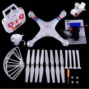 DRONE CPRORPO Blanc SYMA X8W - Drone Caméra HD Wifi avec