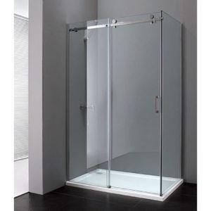 Porte de douche 80 x 100 - Achat / Vente pas cher