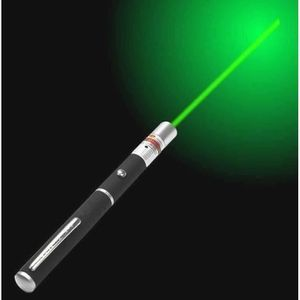 LUMIERE PULSEE - LASER NEW STYLO POINTER POINTEUR LASER VERT VISIBLE 1mW