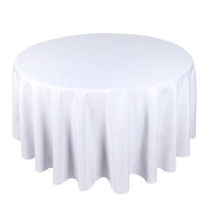 nappe ronde blanche achat vente pas cher. Black Bedroom Furniture Sets. Home Design Ideas