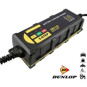 CHARGEUR DE BATTERIE  Chargeur de batterie 6 / 12V marque Dunlop