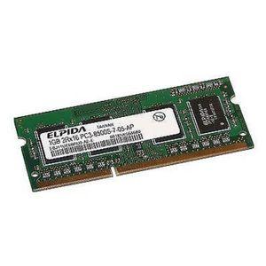 MÉMOIRE RAM 1Go RAM PC Portable ELPIDA EBJ11UE6BAU0-AE-E PC3-8