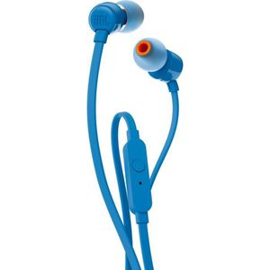 CASQUE AVEC MICROPHONE JBL T110, Avec fil, écouteur, Binaural, Intraaural