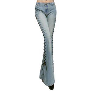 Vente Femme Achat Cher Jeans Evase Pas zZOwxOnt