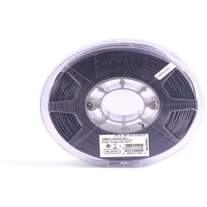 ESUN Filament pour Imprimante 3D ABS - Gris - 3 mm - 1kg