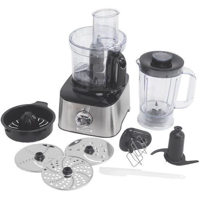 KENWOOD FDM301SS Robot multifonction MultiPro Compact - Inox