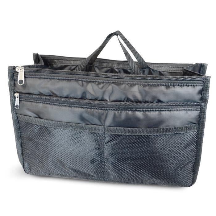 KINSTON Grand organiseur de Sac Smart Bag - 9 poches de différents formats