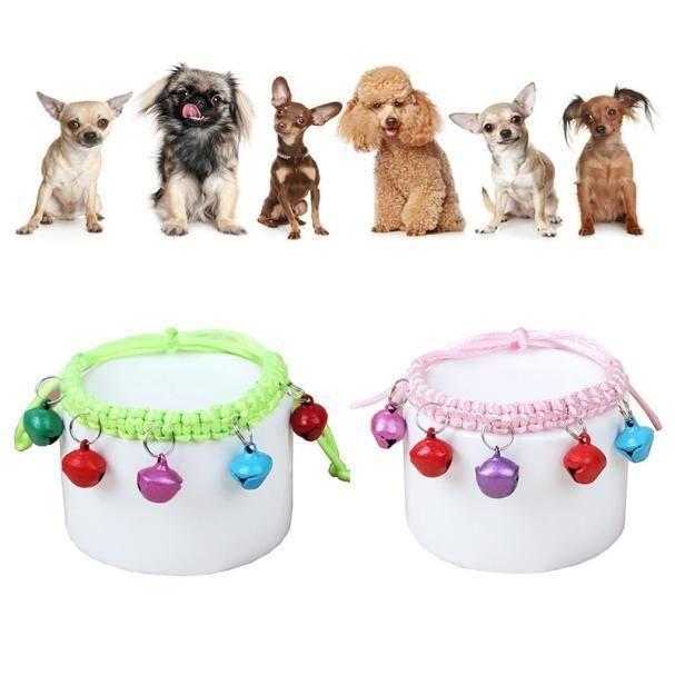 Mode Jingle Bell En Nylon Collier Réglable Pour Chien Punny Chaton Chat Yjl60727766_1234