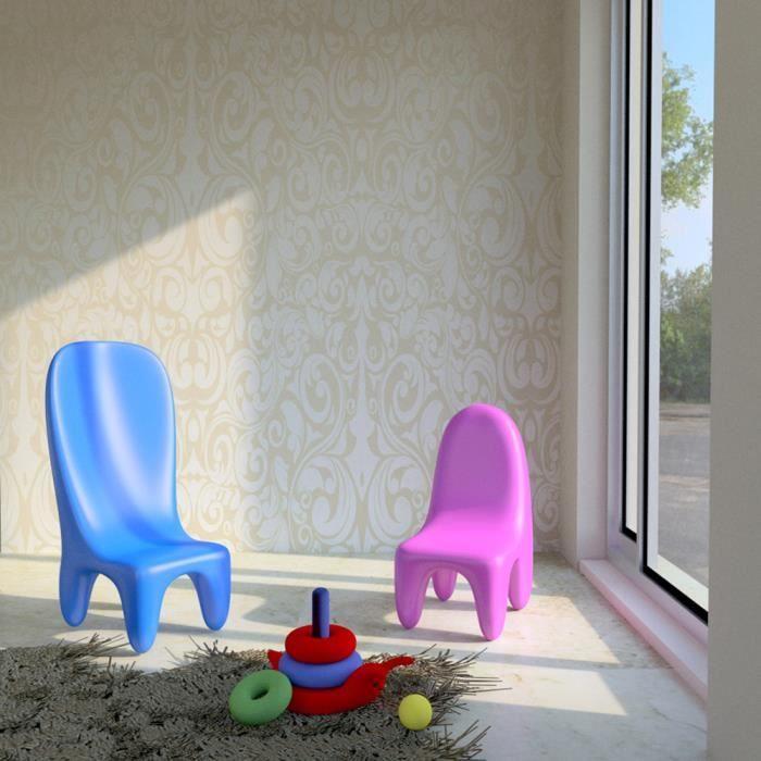 CHAISE Set 2 Chaises Design Pour Enfants Loriblanche Made