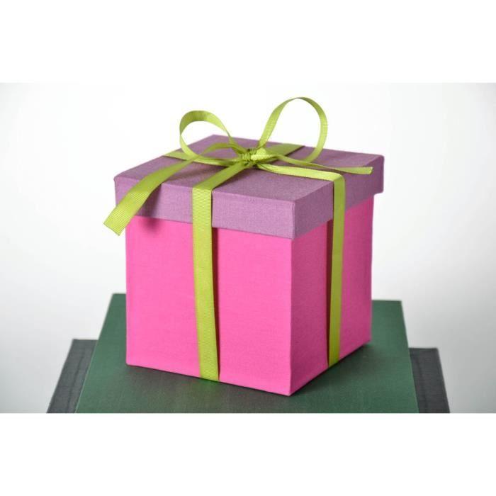 bo te pour cadeau faite main achat vente bo te cadeau bo te pour cadeau faite mai cdiscount. Black Bedroom Furniture Sets. Home Design Ideas