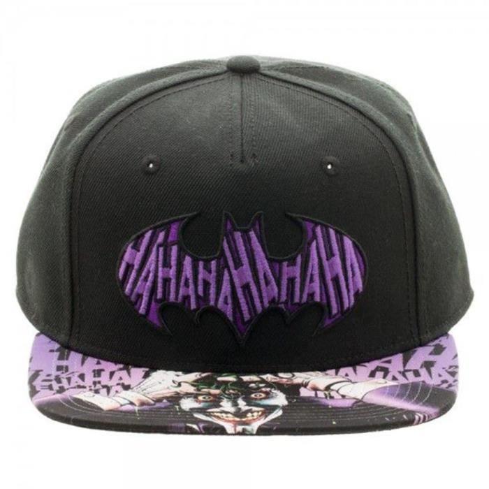 Officiel de DC Comics Batman le Joker HaHaHa Logo sublimée casquette ... 88b55f7c7794