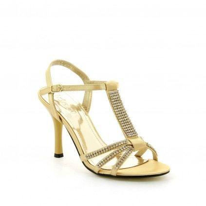 éclatant sortie d'usine style exquis Chaussure femme Sandale JILLIA Doree - Achat / Vente ...