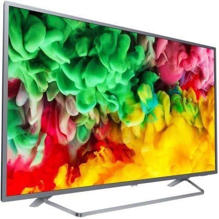 """Téléviseur LED Philips 50PUS6753 Classe 50"""" 6700 Series TV LED Sm"""