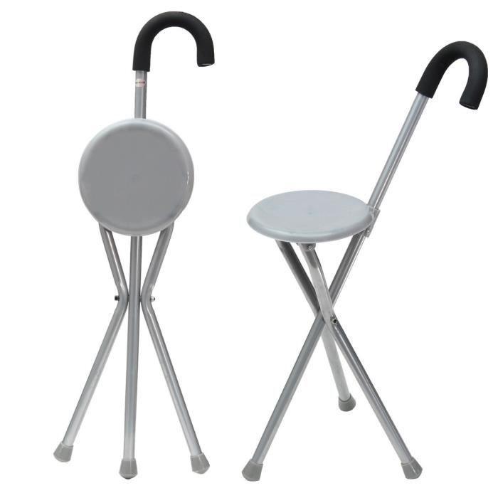 TEMPSA Pliable Trpied Canne Avec Chaise De Sige Portable