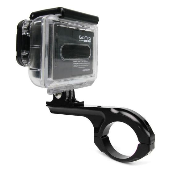 Fixation noir de guidon de vélo pour GoPro HERO5 Black et HERO5 Session caméra  sport - en aluminium par - Achat   Vente brassard de fixation - Cdiscount d8d4e9821d33