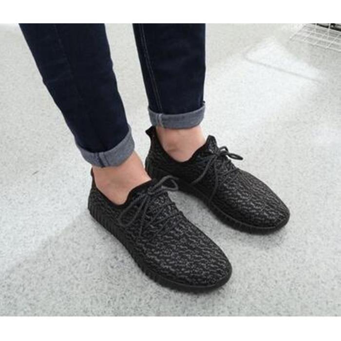 Mens chaussures neuf d'extérieur Homme sport Flats chaussures Casual respirant mocassins printemps poids léger EqIqw5U