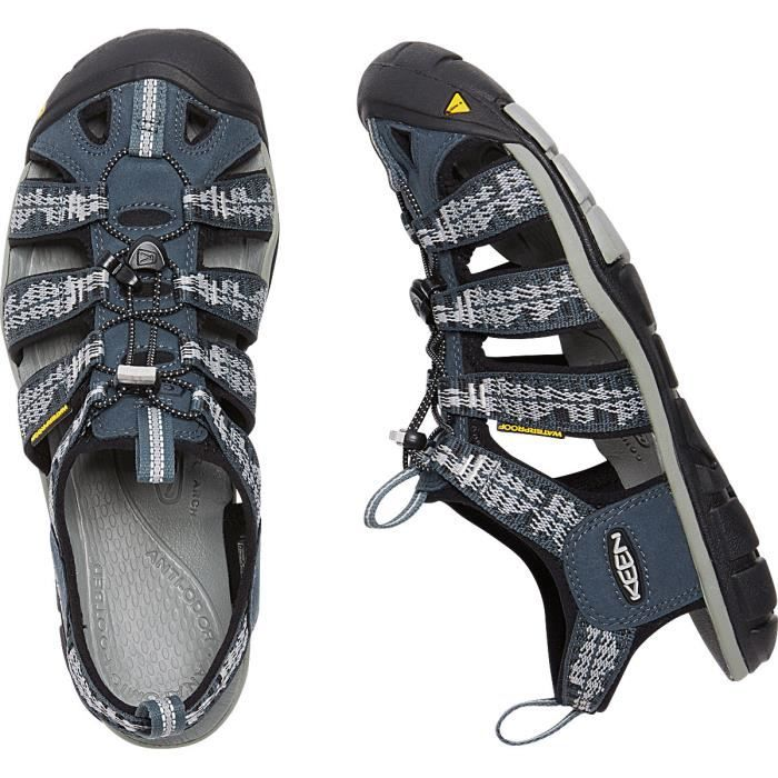 Keen Sandales Clearwater CNX Homme Midnight Navy/Vapor