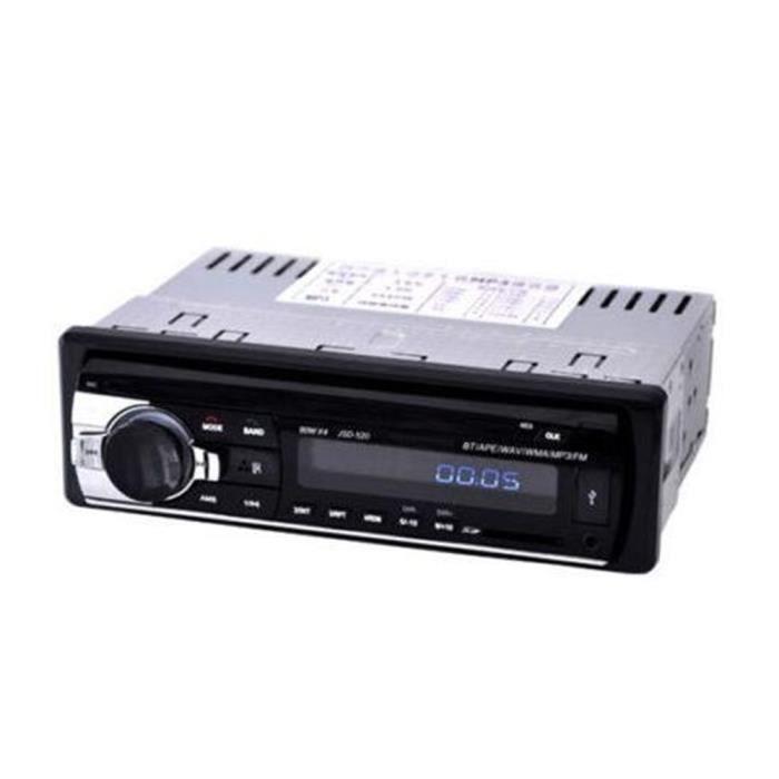 Voiture AutoRadio Bluetooth Stéréo Audio In-Dash SD USB MP3 Récepteur FM Machine à Carte Télécommande