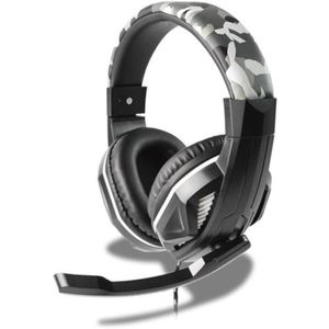 CASQUE AVEC MICROPHONE STEELPLAY Casque filaire HP42 Multi-Support Camo