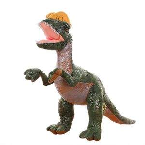 LARGE 50 cm en mousse souple en caoutchouc en peluche anchilosauro dinosaure jouet figurine avec son