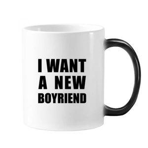BOL - MUG - MAZAGRAN je veux un nouveau copain la chaleur sensible morp