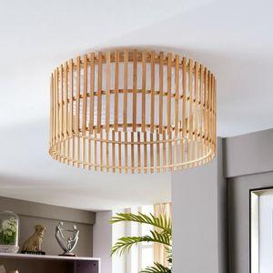 abat jour bambou achat vente abat jour bambou pas cher cdiscount. Black Bedroom Furniture Sets. Home Design Ideas