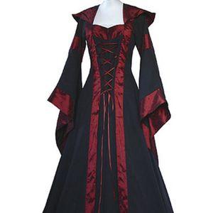 DÉGUISEMENT - PANOPLIE MOONMINI®Femmes Médiévales Robes Reine Halloween C