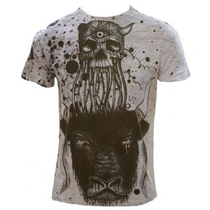 T-SHIRT Monkey Business - OCCULT BULL - T-shirt pour Homme