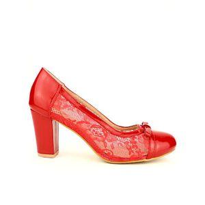 Escarpins femme rouge - Achat   Vente pas cher 3642328fe24